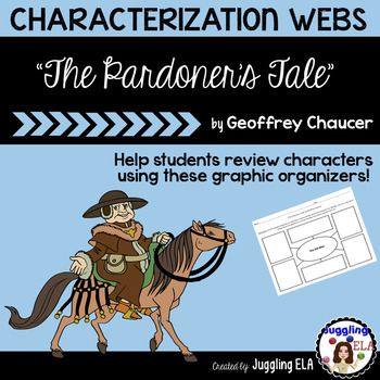 "Characterization Webs for ""The Pardoner's Tale"" by Geoffrey Chaucer"
