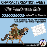 """Characterization Webs for """"The Pardoner's Tale"""" by Geoffre"""