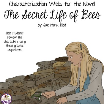 Characterization Webs for The Secret Life of Bees by Sue Monk Kidd