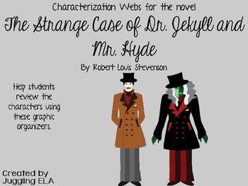 Characterization Webs for The Strange Case of Dr. Jekyll and Mr. Hyde