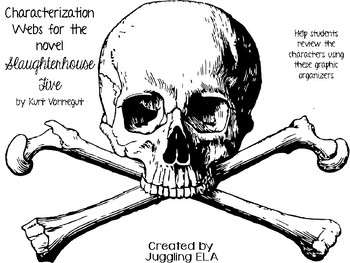 Characterization Webs for novel Slaughterhouse-Five by Kurt Vonnegut