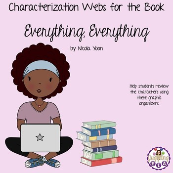 Characterization Webs for the Book Everything, Everything by Nicola Yoon