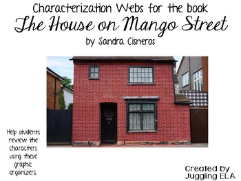 Characterization Webs for the book The House on Mango Street by Sandra Cisneros
