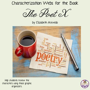 Characterization Webs for the Book The Poet X by Elizabeth Acevedo