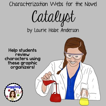 Characterization Webs for the Novel Catalyst by Laurie Halse Anderson
