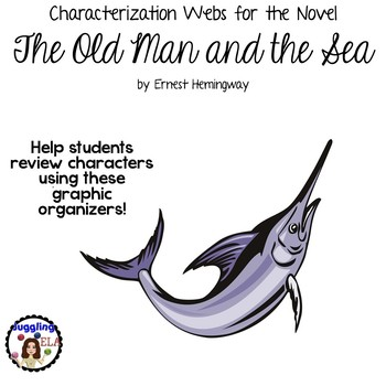 Characterization Webs for the Novel The Old Man and the Sea by Ernest Hemingway