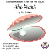 Characterization Webs for the Novel The Pearl by John Steinbeck