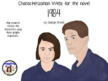 Characterization Webs for the novel 1984 by George Orwell