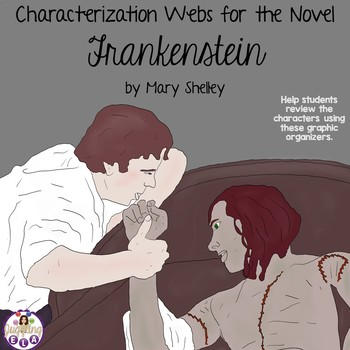 Characterization Webs for the Novel Frankenstein by Mary Shelley