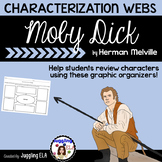 Characterization Webs for the novel Moby Dick by Herman Melville