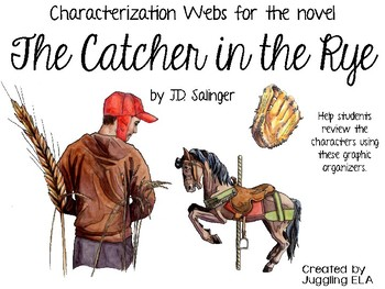Characterization Webs for the novel The Catcher in the Rye by J.D. Salinger
