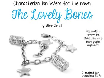 Characterization Webs for the novel The Lovely Bones by Alice Sebold