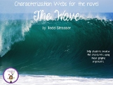 Characterization Webs for the novel The Wave by Todd Strasser