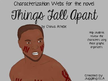 Characterization Webs for the novel Things Fall Apart by Chinua Achebe