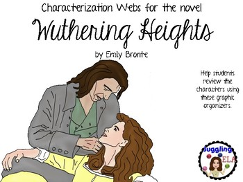 Characterization Webs for the novel Wuthering Heights by Emily Bronte