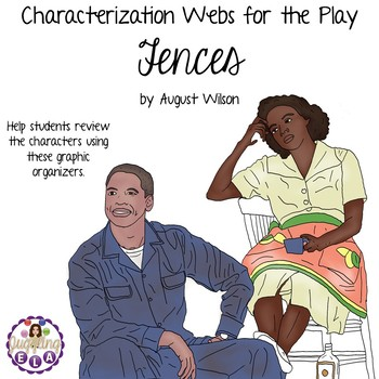 Characterization Webs for the play Fences by August Wilson
