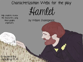 Characterization Webs for the play Hamlet by William Shakespeare