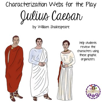 Characterization Webs for the play Julius Caesar by William Shakespeare