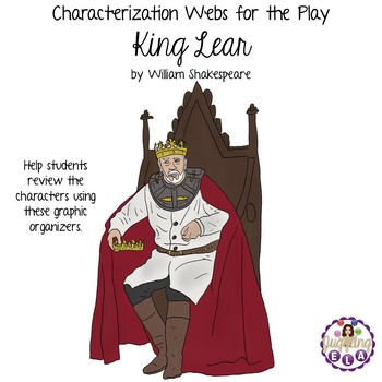 Characterization Webs for the play King Lear by William Sh