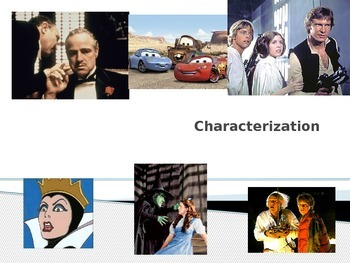 Characterization in Literature and How Authors Do It