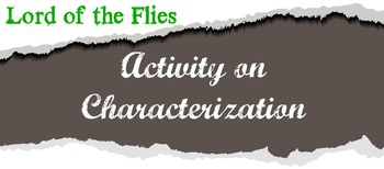 Characterization in Lord of the Flies