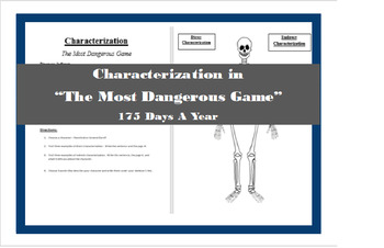 """Characterization in """"The Most Dangerous Game"""""""