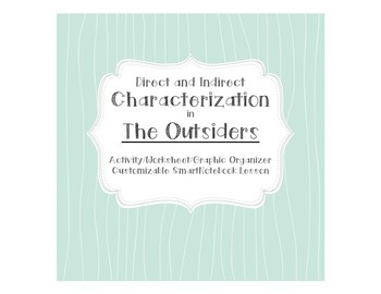 Characterization in The Outsiders