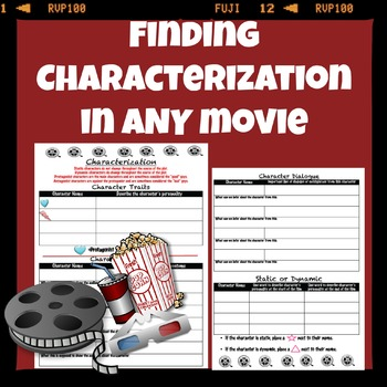 Finding Characterization in any movie
