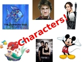 Characterization literary element PowerPoint