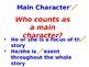 Characterization literary element PowerPoint
