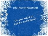 Characterization (using Frozen)