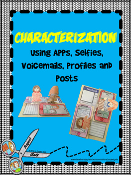 Characterization using apps, selfies, voicemail, profiles, and posts