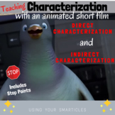 Characterization with an Animated Short