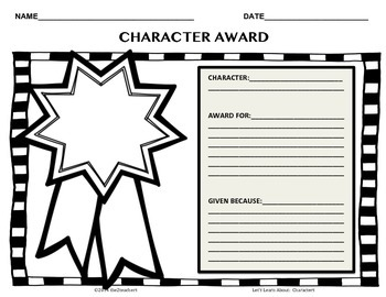 Characters - 20 activities to help deepen reading comprehension
