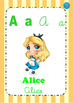 Characters' Alphabet POSTERS