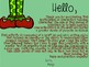 Characters Building Character Craftivity-Empathetic Elf!