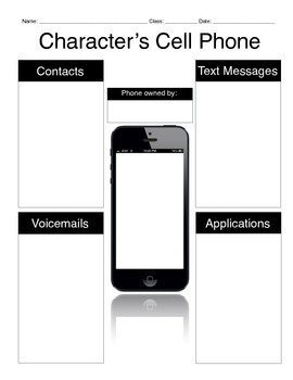 Character's Cell Phone