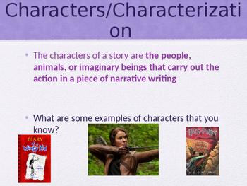 Characters/Characterization