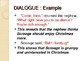 Characters: Characterization, Dialogue, and Traits