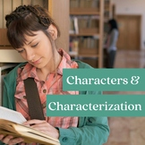 STEAL Characterization and Character Types Lesson Plan, Pr