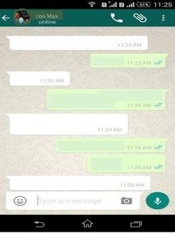 Characters Chat on Whatsapp - Summarize/Paraphrase The Dia