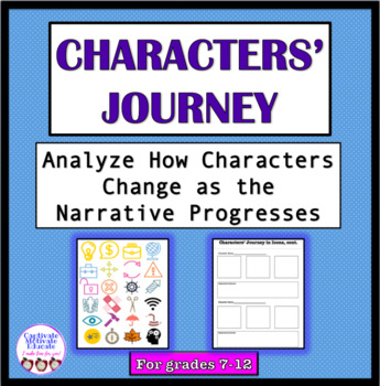 Characters' Journey in Icons