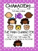 Characters/ Main Characters Anchor Chart
