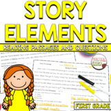 Characters, Setting, Events in a Fiction Story RL.1.3