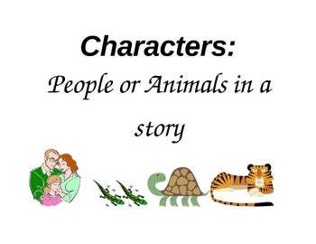 Characters, Setting, Plot Posters