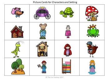 Characters, Setting and Sequence With Fairy Tales