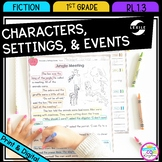 Characters, Settings, and Events - 1st Grade RL.1.3 - Prin