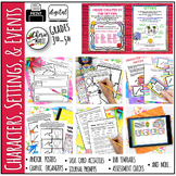 Characters, Settings, and Events in Literature RL4.3 Digit