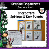 Reading Graphic Organizers: Characters, Settings, and Majo
