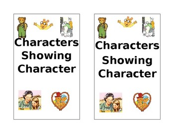 Characters Showing Character